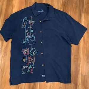 Tommy Bahama 2020 New Year Button Up